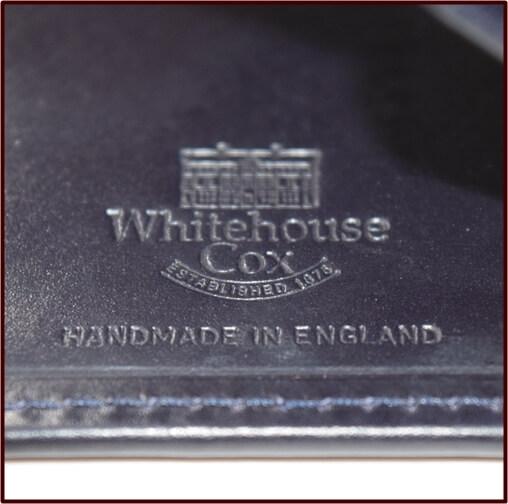 ホワイトハウスコックス ハンドメイド刻印