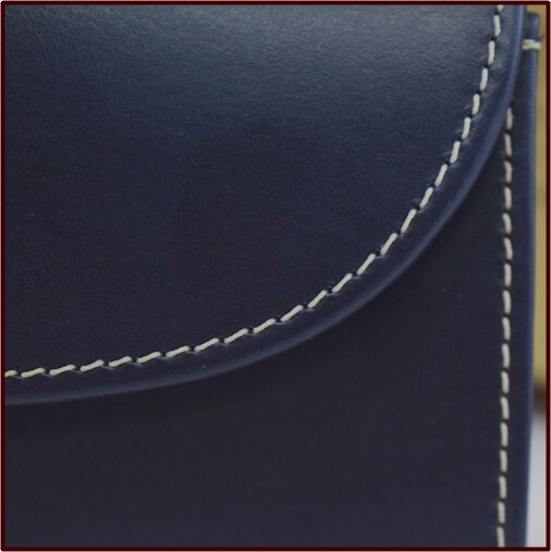 ホワイトハウスコックス フラップ部分 縫い目