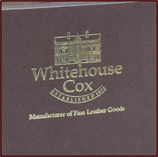 ホワイトハウスコックス 箱ロゴ 写真