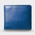 アニアリの二つ折り財布(ブルー)の写真
