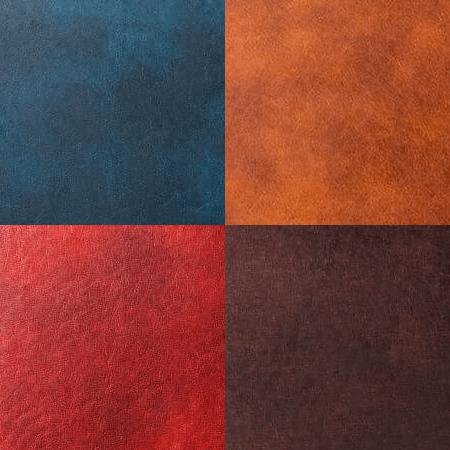 ニューアイディアルレザー4色の拡大写真